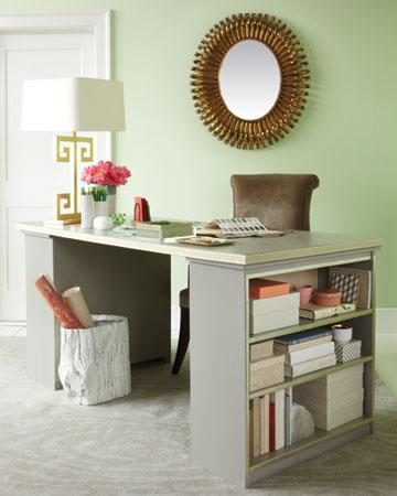 Martha stewart bookcase desk