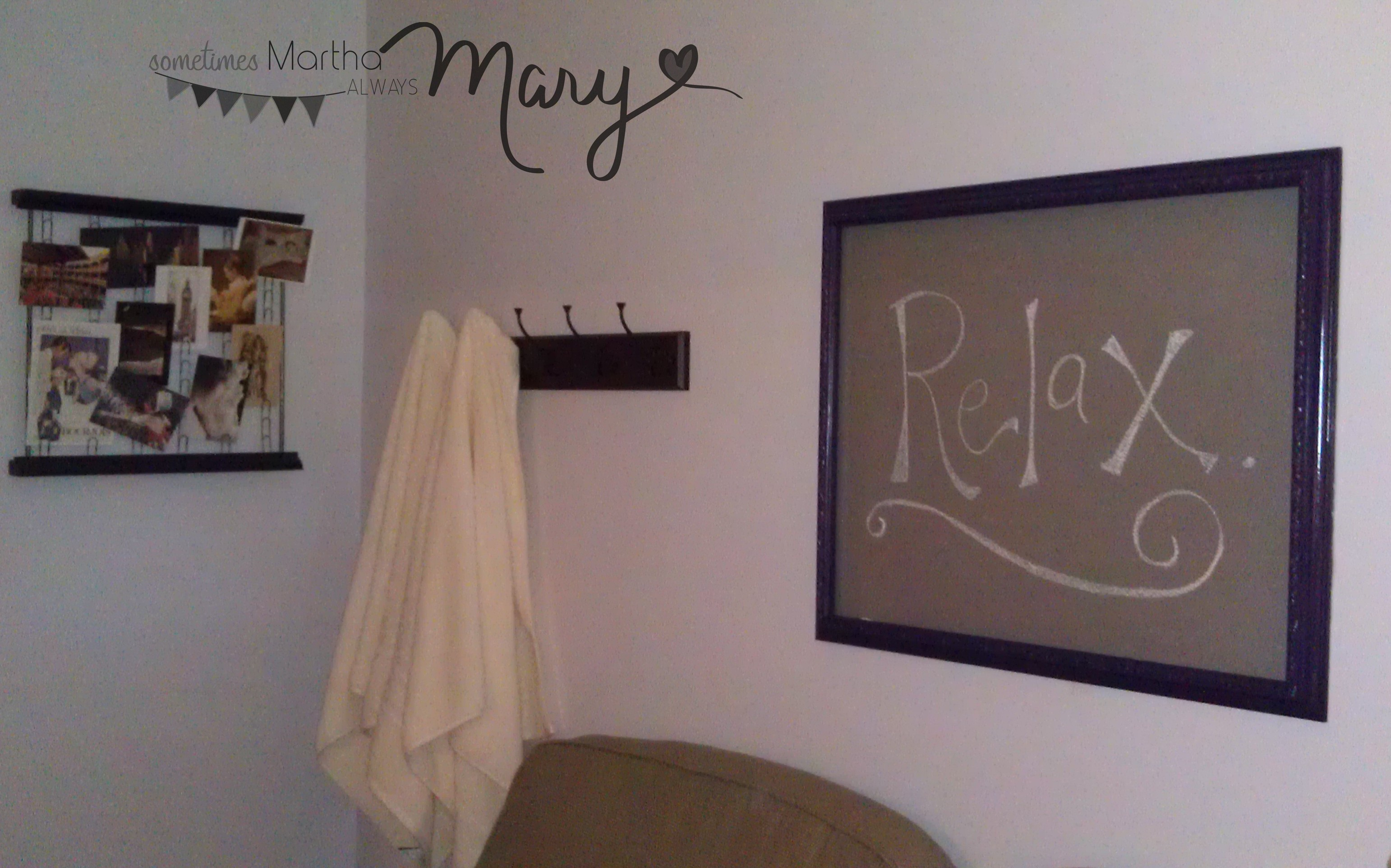 Basement Guest Room Part 2 Sometimes Martha Always Mary