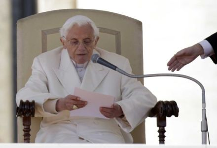 Pope Benedict's final address Newsday