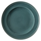 Threshold beaded teal plates