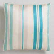 World Market striped pillow