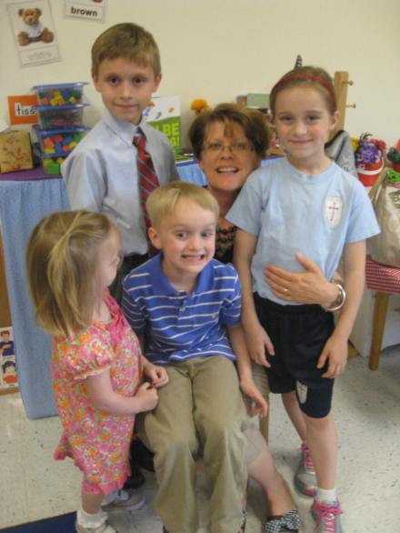 Bright Eyes' Pre-K Graduation 2013 013