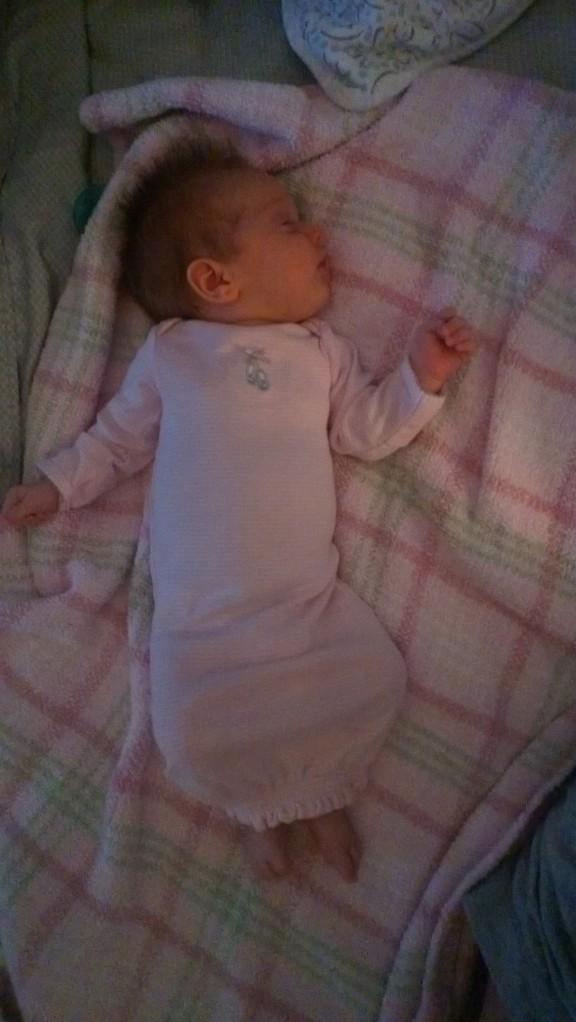 sleeping Little One 9 weeks