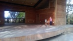 A private Irish Dance performance at the Ampitheatre in Duck